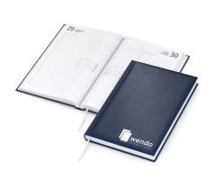 Buchkalender mit rotem Innendesign Cambridge