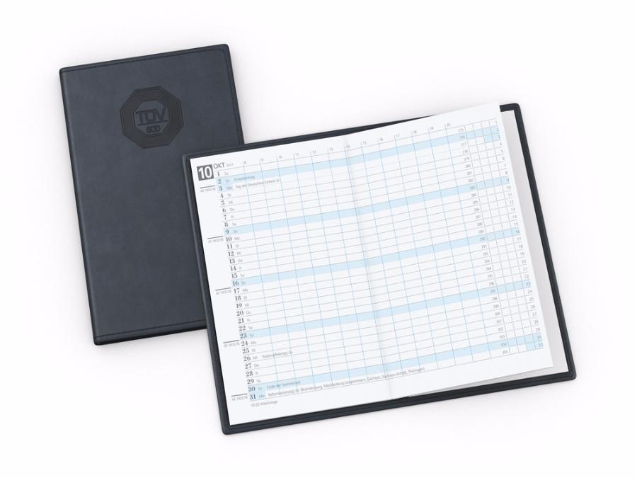 Classic Taschenkalender 30 Seiten  je Monat