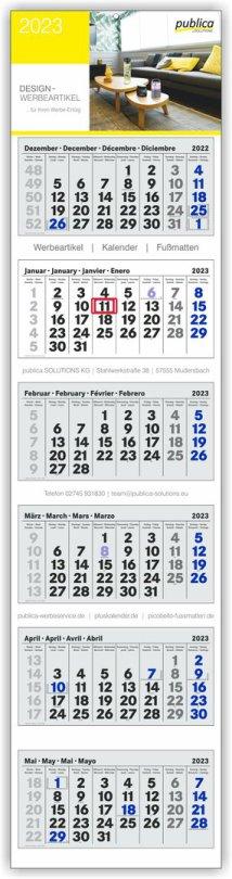 6-Mona6-MK PLUS grau mit blauen Sonn- und Feiertagentskalender Plus grau-weiß-grau mit roten Sonn- und Feiertagen