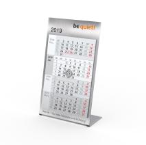 Desktop Steel 4 mit 4-Monats-Kalendarium