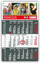 Solid 3-Monats-Planer/Kalender