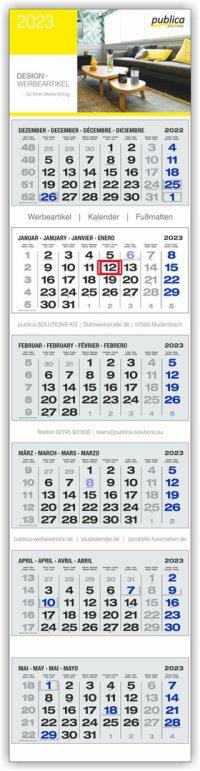 6-MK PLUS S grau mit blauen Sonn- und Feiertagen