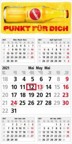 Commerce 5-Monats-Planer Kalender