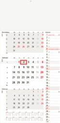 Konzept 3-Monats-Planer