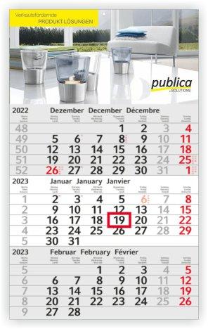 Budget 3-Monats-Planer/Kalender
