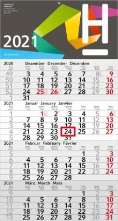 4-Monatsplaner/Kalender Budget 4