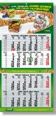 Synergie 4-Monatskalender/Planer